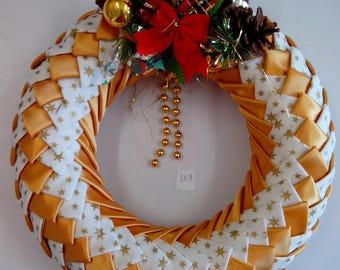 wreath Christmas birthday table decoration party