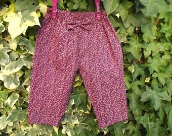 Burgundy liberty girl pants