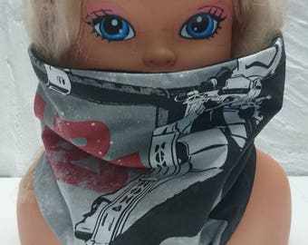 Reversible SNOOD neck polar and STAR WARS