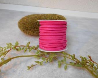 Wire - fuchsia - 1 m cord suede