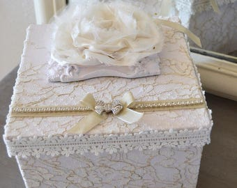 Box or shabby jewelry box