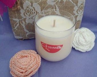 190gr Lemongrass scented candle