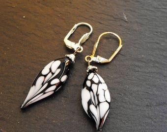 BCL.2510 Murano glass earrings