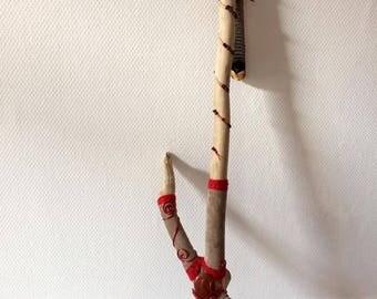 Driftwood Oyake talking stick