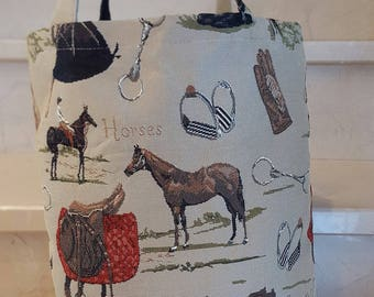 "Tote collection ""Horses"" 32 x 42 cm"