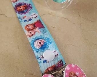 "Pacifier and pacifier ""snow Queen"""