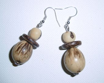 Ethnic, nature earrings