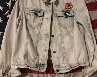 Mudd Distressed Denim Jacket