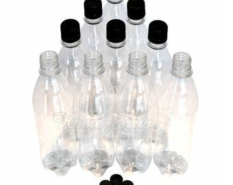 Home Brew Online Clear Bottles PET 500ml Basic Pack of 40