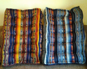 CUSHION LOUNGE:HOUSSE GROUND IN CUSTOM COTTON CUSHIONS COVER COLLECTION-