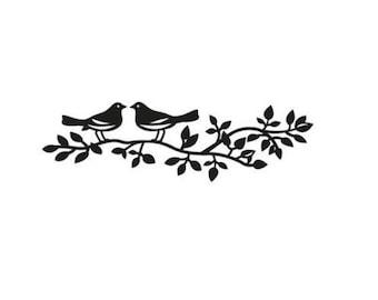 Die cut Marianne Design Craftables Birds silhouette new