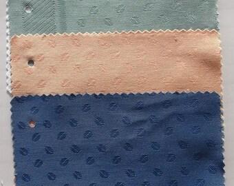 set of 4morceaux fabrics for patchwork GRAIN DE CAFE 4 colors - REF. 1003