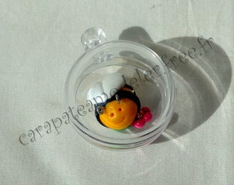 Sphere Crystal bee for baptism