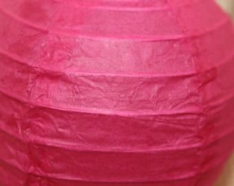 1 x Chinese paper Lantern/Lantern pink 10cm