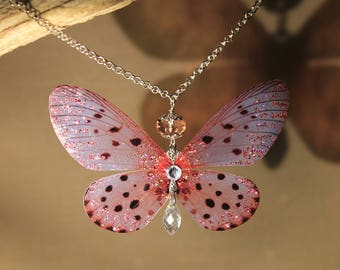 "Necklace/pendant ""Butterfly Fairy"" fantasy, fairy, elven, fantasy"
