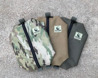"8""x 10"" Center-Zip Possibles Pouches - Tuff Possum Gear"