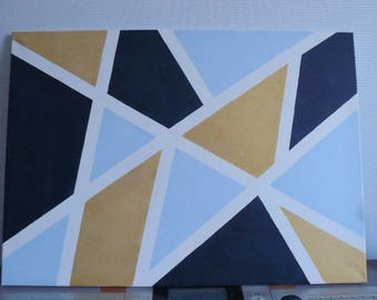 Modern and abstract painting painting