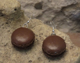 "Macaroon ""collection gourmet"" earrings"