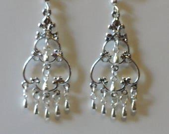 Oriental style Silver earrings