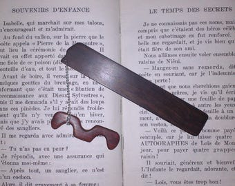 Bookmarks in Macassar ebony