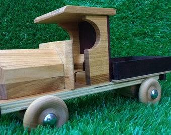Vintage style wood truck