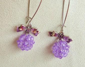 """Ball beads and """"sleepers"""" type earrings"""