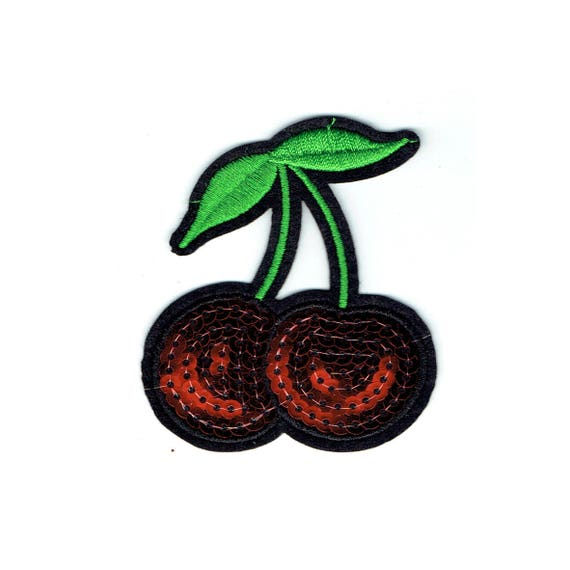 """Patch fusible """"Cherry"""" pattern"""