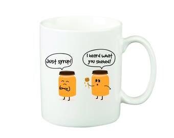 I Heard What You Shehed Mug