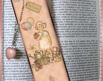 "Laminated bookmarks ""girl Toys"""