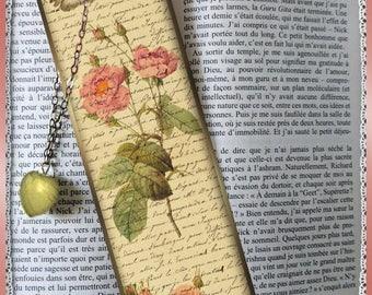"Bookmarks laminated ""Bucolic Bouquet"", cheap gift idea"