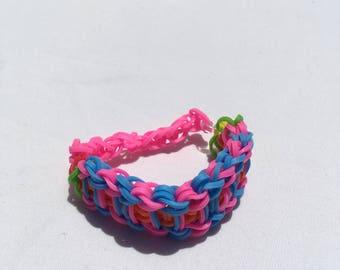 Multicolored Ladder Bracelet