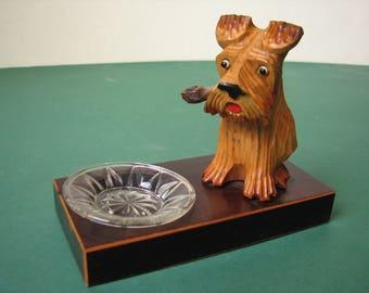 Slovenia Vintage Scottie Terrier Dog Ashtray