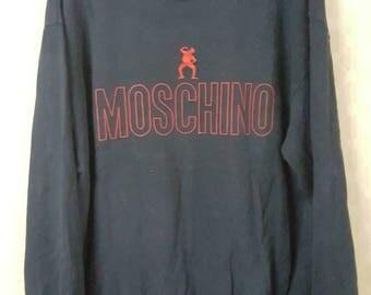 Rare Moschino Sweatshirt