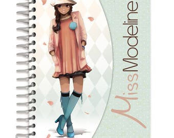 A6 - Miss Modeline Leila - Ref 62188 design book