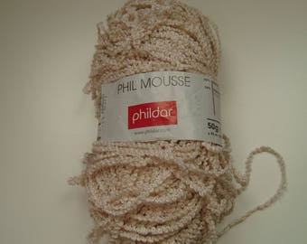 Wool Phil Moss Phildar - 50 g - 3-3, 5 needles - sand color