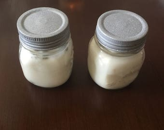 Soy wax sage candles 4oz