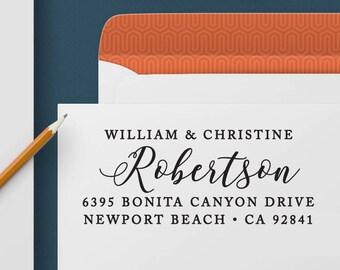 Return Address Stamp 352 - Self Inking Stamp, Custom Address Stamp, Custom Stamp, Personalized Address Stamp, Wedding and Housewarming Gift