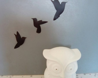 Black birds wall stickers