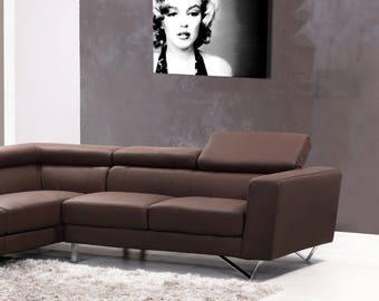 Portrait on canvas luxury Marilyn 30 x 40