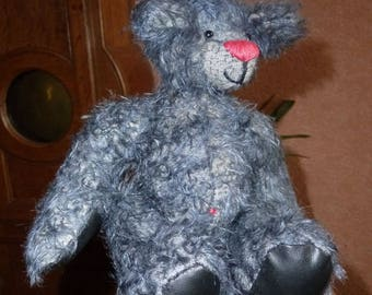 Challenge October... the first mohair bear