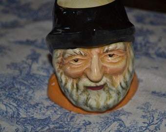 Vintage Fisherman Toby Jug By Shorter And Sons, Staffordshire England