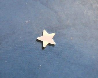decorative white stars 0.5 cm