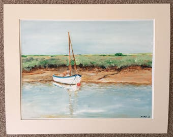 Original Limited Edition, Fine Art, Giclee Signed and Numbered Print:                     'One Afternoon'