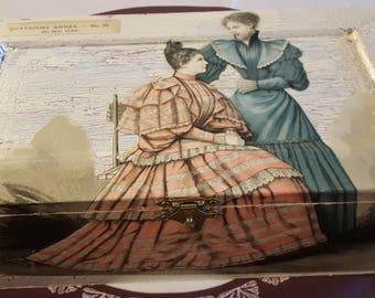 Large box beads N 519 1893 fashion color prints