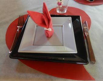 heart shaped table seven