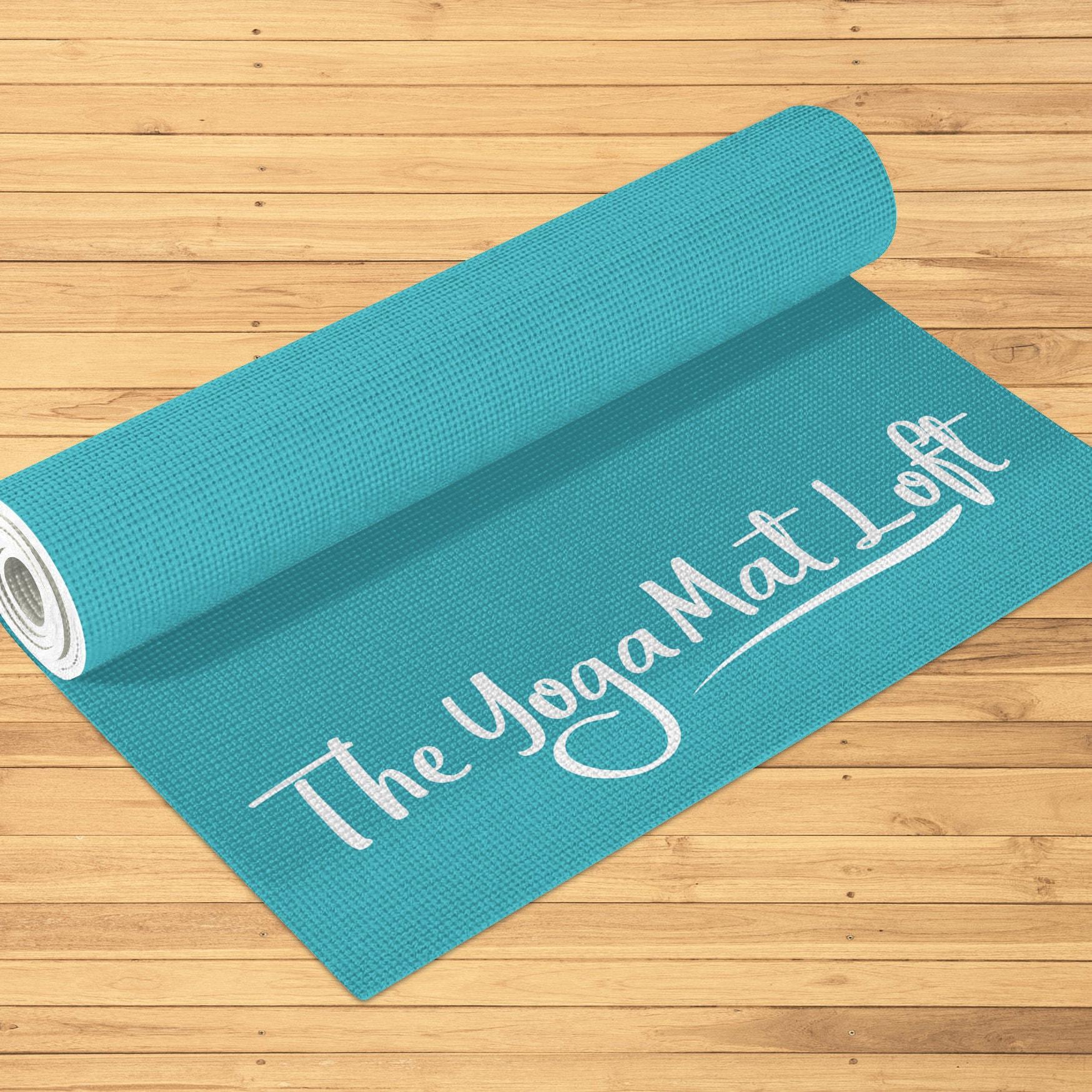 Printed Yoga Mat Personalized Yoga Mat Custom Pilates Mat