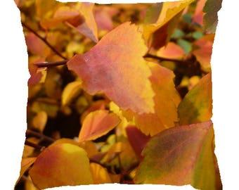 """""""Autumn fire"""" cushion 40x40cm"""