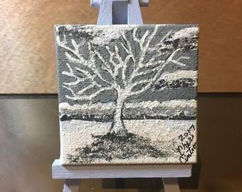 Mini Snowy Tree