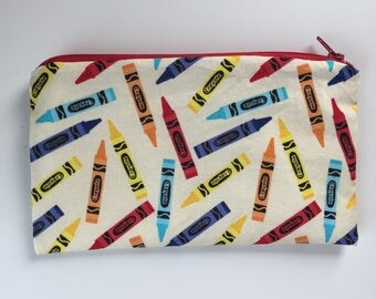 Crayon Waterproof Washable Reusable Snack Bag