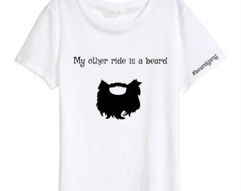 "Tee ""my other ride"""